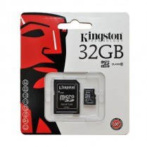 Paměťová karta Kingston 32GB Micro SDHC, Class 10