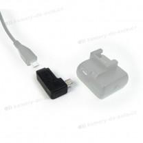 obrázek Adaptér micro USB - zahnutý