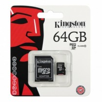 Paměťová karta Kingston 64GB Micro SDXC, Class 10