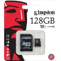 obrázek Paměťová karta Kingston 128GB Micro SDXC, Class 10