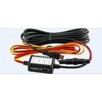 obrázek Skryté napájení s rovným microUSB konektorem pro autokamery řady Topcam nanoq a Topcam DUAL Mini G+