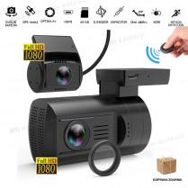 MÁJOVÉ DNY: Autokamera Topcam DUAL Mini G+, CPL filtr, NEOPRENOVÉ POUZDRO ZDARMA