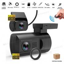 obrázek JARNÍ SLEVA: Autokamera Topcam DUAL Mini G+, CPL filtr, NEOPRENOVÉ POUZDRO ZDARMA