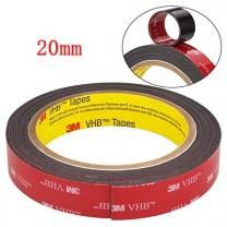 obrázek 20 mm - ROLE, oboustranně lepící 3M páska (šíře 20 mm, délka 3 m, tloušťka 0,64 mm)