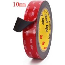 obrázek METRÁŽ (10 cm) oboustranně lepící 3M pásky (šíře 10 mm, tloušťka 0,64 mm, délka úseku 10 cm)