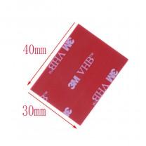 obrázek 3M - Oboustranně samolepící podložky VHB 5608A, 40 x 30 mm, 4 ks