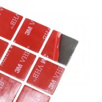 obrázek 3M - Oboustranně lepící podložky VHB 5608A, 25 x 25 mm, 8 ks