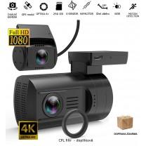 obrázek Autokamera Topcam DUAL WiFi 4K s dálkovým ovládáním